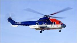 A Eurocopter AS332 Super Puma L2 variant