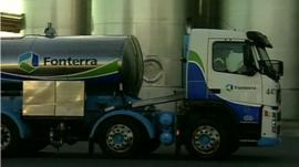 Fonterra tanker