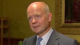 UK Foreign Secretary William Hague