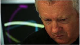 Paul Reedy at a computer
