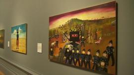 A painting featured in Australia at Royal Academy of Arts