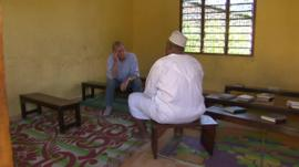The BBC's Peter Taylor meets 'Makaburi'