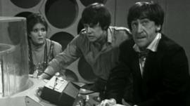 Scene from Dr Who film