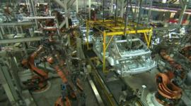 Car factory in South Africa