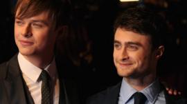 Dane DeHaan and Daniel Radcliffe
