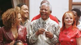 Nelson Mandela and the Spice Girls