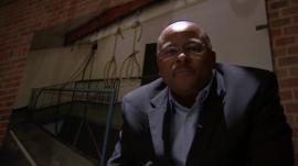BBC reporter Milton Nkosi visits the Apartheid Museum in Johannesburg
