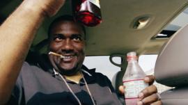 Rapper ESG drinking 'purple drank', a cough medicine-based drug
