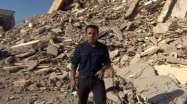 Ahmed Maher in Tripoli