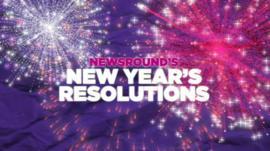 Newsround's New Year Resolutions