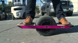 Riding the One Wheel