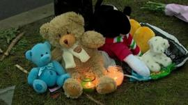 Soft toys and candles