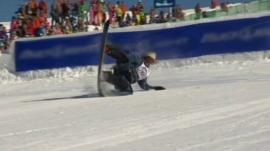 A snowboarding cowboy