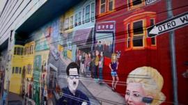 San Francisco mural