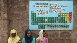 Periodic table in Ethiopia
