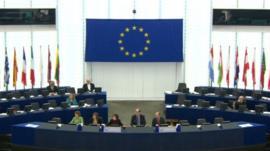Inside European Parliament
