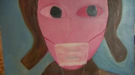 Smog painting