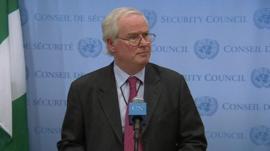 Mark Lyall Grant, UK Ambassador to the United Nations