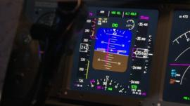 Cockpit controls, file image
