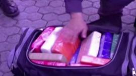 Drugs seized by police in Italy