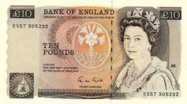 £10 from the 1970s, image courtesy Bank of England