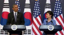 President Obama and President Park Geun-hye
