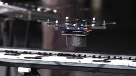 Drone playing