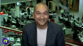 BBC reporter Rajan Datar