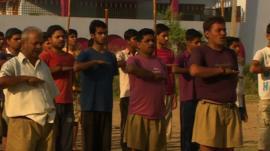 Rashtriya Swayamsevak Sangh (RSS) members