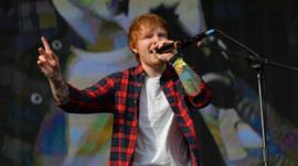 Ed Sheeran at Big Weekend