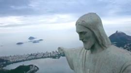 Aerial shot of Rio de Janeiro