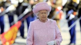The Queen pays her respects