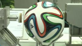 Brazuca, the football to be used in World Cup