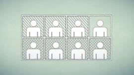 Graphic showing eight people in grid
