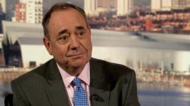 First Minister Alex Salmond MSP