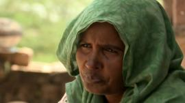 Woman sold to be a bride in India