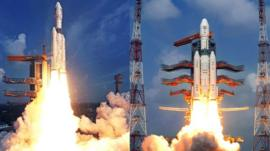 India launches it's largest rocket into space