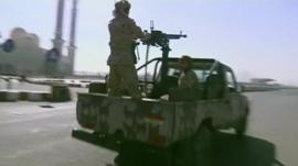 Shia Houthi rebels in Yemen