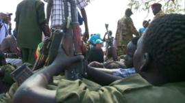 Child soldiers in South Sudan