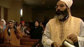 Coptic service