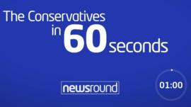 The Conservatives in 60 seconds