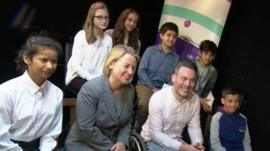 Natalie Bennett and Newsround viewers