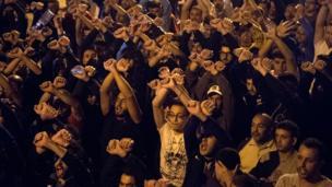 الاحتجاجات في المغرب
