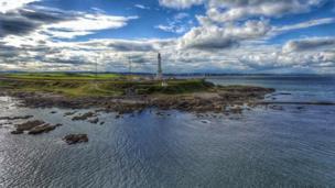 Girdle Ness lighthouse