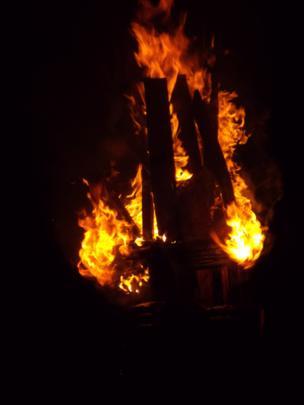 Burning of the Clavie