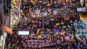 Türkiye'de kadın protestoları