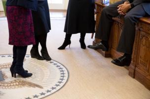 Başkan Obama Oval Ofis'te