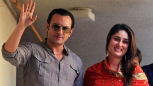 सैफ अली खान, करीना कपूर