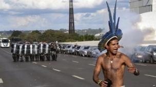 ब्राजील प्रदर्शन