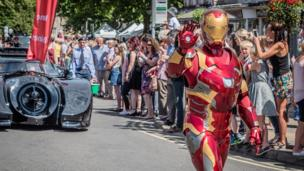 Ironman at Witney Carnival